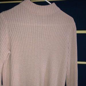 Women's Cropped Sweater Turtleneck